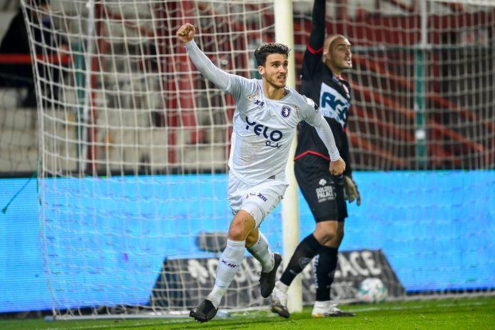 Tijdens spektakelmatch Kortrijk-Beerschot (5-5) scoorde Pierre Bourdin nog twee keer. Nu verwacht de Fransman een minder open wedstrijd.