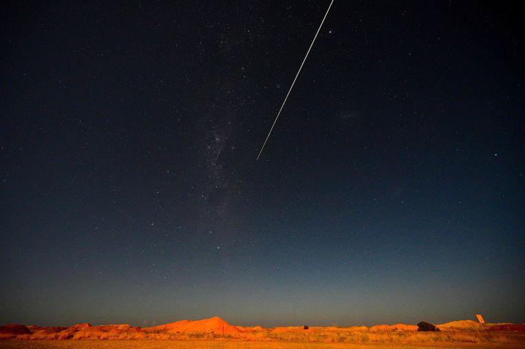 Beeld van een andere asteroïde. Beeld AFP