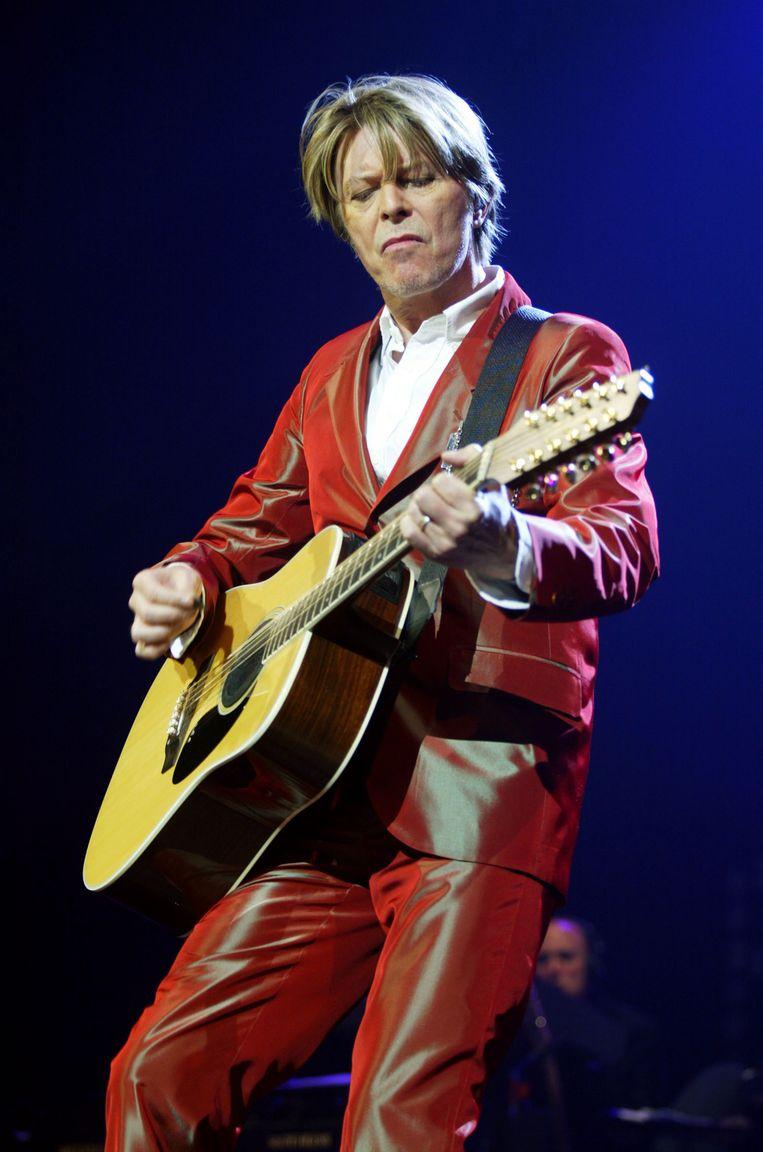 David Bowie. Beeld AFP