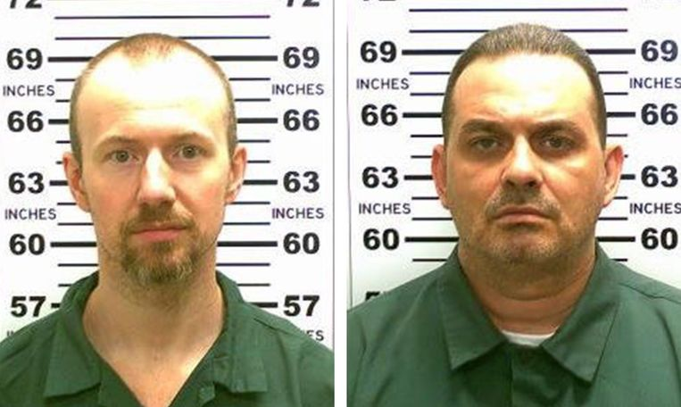 David Sweat en Richard Matt.