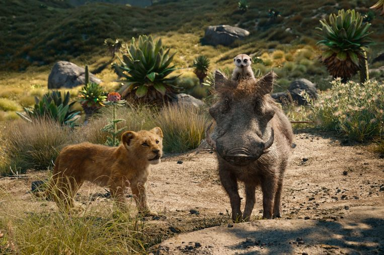 Still uit 'The Lion King' uit 2019. Beeld AP