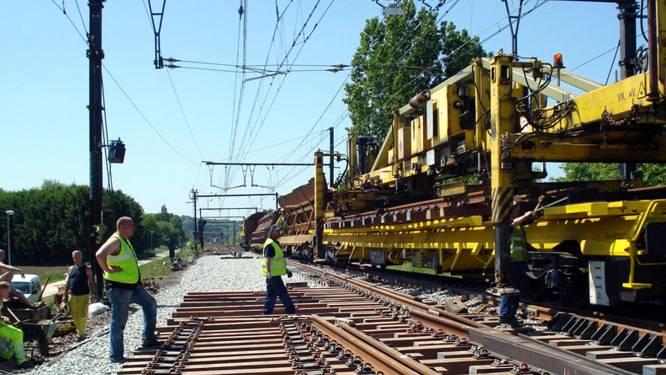 Geluidshinder mogelijk door werken aan het spoor