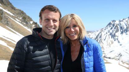 """Brigitte en Emmanuel Macron werden """"gemeden als de pest"""" toen hun relatie aan het licht kwam"""