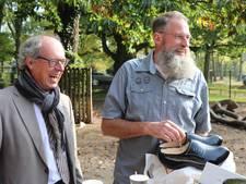 Afscheid van beheerder dierenparkje Rossum Hendrik Rietstra