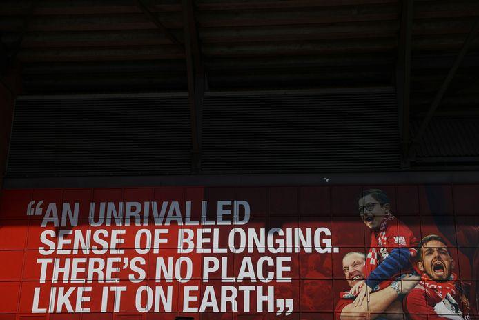 Liverpool-fans keren zich tegen de hebzucht van de eigenaars van de club.