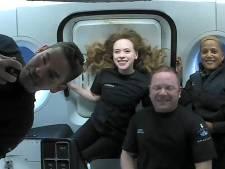 Eerste 'burgervlucht' SpaceX veilig geland in Atlantische Oceaan