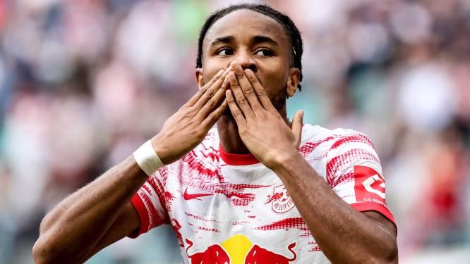 Club Brugge weet wie het aan de ketting moet leggen: pijlsnelle en doelgerichte Nkunku (23) is smaakmaker van Leipzig