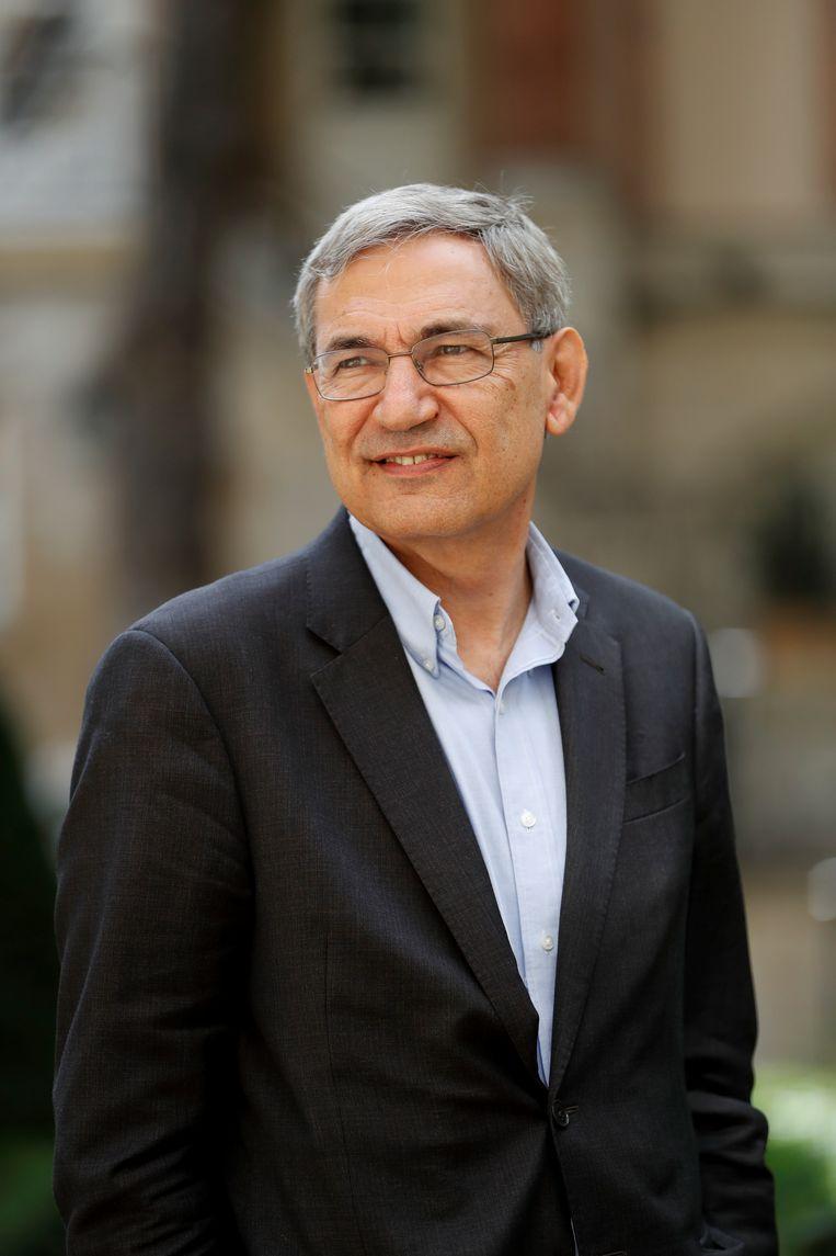 Orhan Pamuk. Beeld BELGAIMAGE
