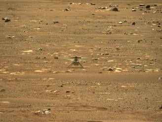 Minihelikopter Ingenuity voltooit vierde vlucht op Mars alsnog, NASA verlengt missie