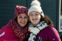 Huda Sekkat en haar 14-jarige dochter Inez Toebast.