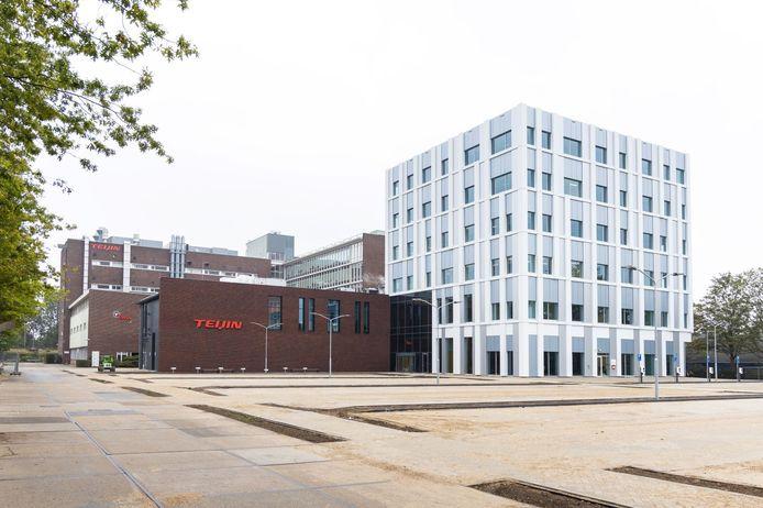 Het hoofdkantoor van Teijin Aramid aan de Velperweg in Arnhem.