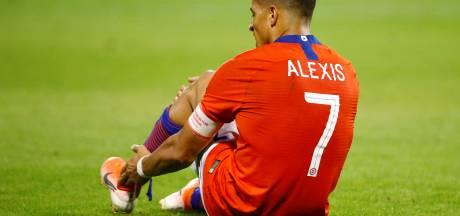 Internazionale vreest lange afwezigheid Alexis Sánchez door enkelblessure
