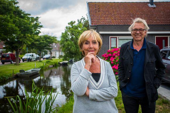 Corrie Rensenbrink en Jan Mulder.
