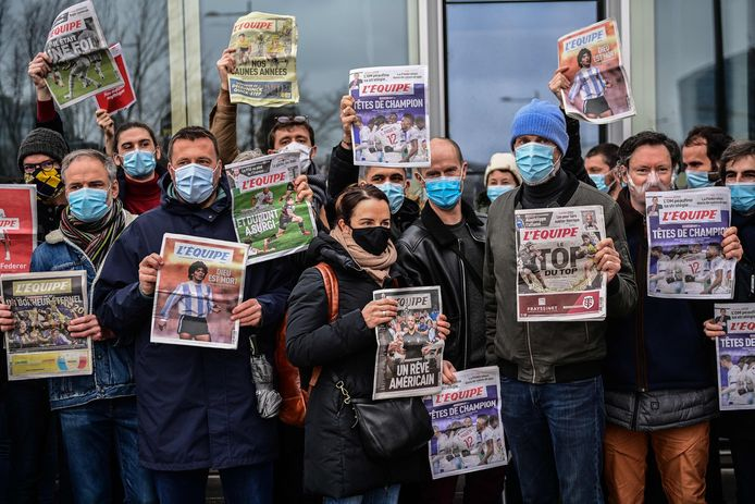 Une grande majorité des journalistes du quotidien sont en grève contre le plan de sauvegarde de l'emploi (PSE) qui prévoit la suppression d'une cinquantaine de postes