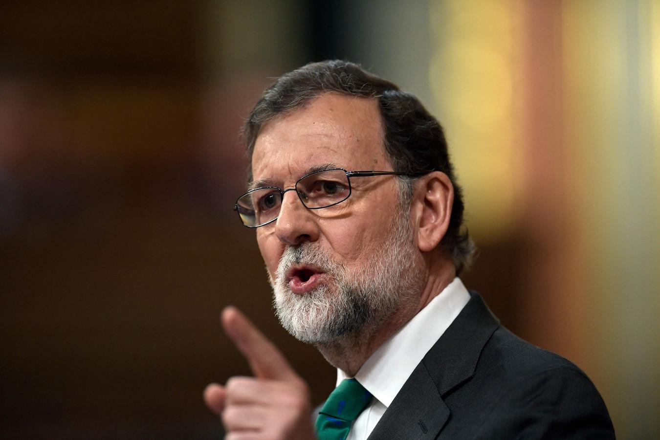 Mariano Rajoy en mai 2018.