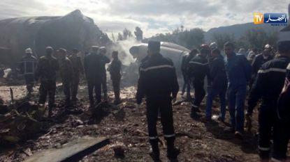 Legervliegtuig stort neer in Algerije: dodentol opgelopen tot 257