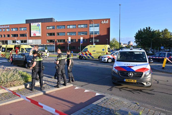 Een voetganger is donderdagmorgen zwaargewond geraakt bij een oversteekplaats aan de Claudius Prinsenlaan in Breda.