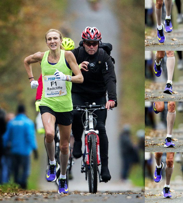 Paula Radcliffe. Beeld Jiri Buller