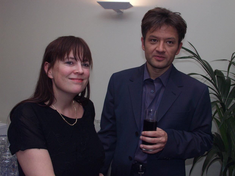 Bart Peeters met vrouw Anneke  Beeld