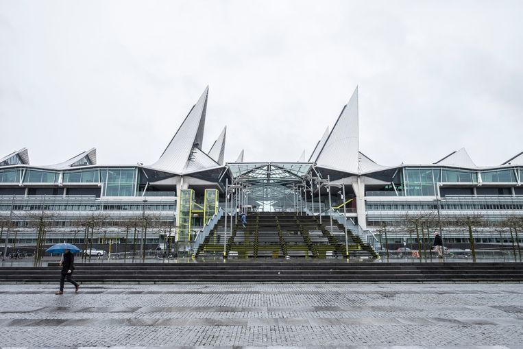 Het gerechtsgebouw van Antwerpen.