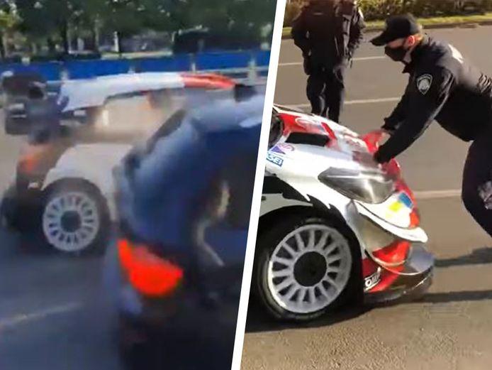 Crash avant une spéciale pour Ogier au rallye de Croatie