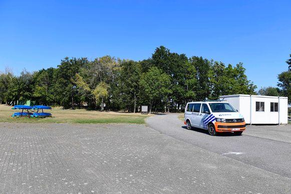De politie moest ingrijpen op Domein Hazewinkel in Willebroek.