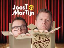 Lezersvoorstelling van Joost & Martijn in Kleine Willem in Enschede