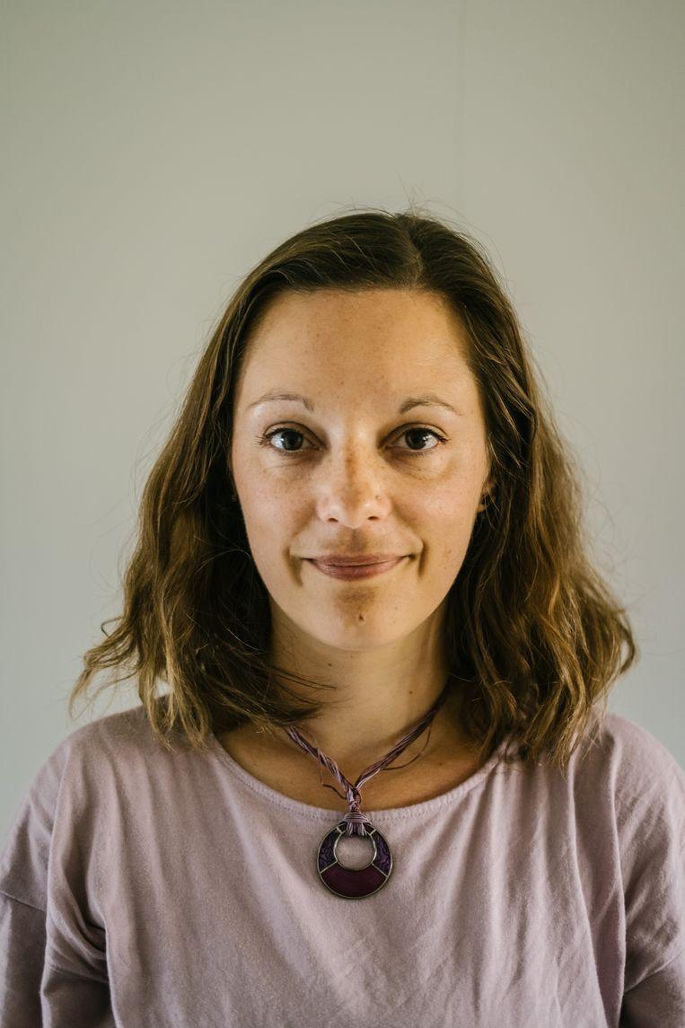 ULB-professor Vanessa Frangville Beeld Wouter Van Vooren