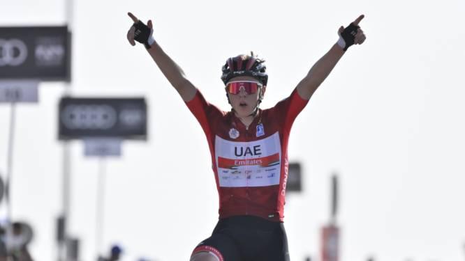 Pogacar verstevigt leidersplaats in UAE Tour na fraai duel met Yates, De Gendt en Vanhoucke tonen zich