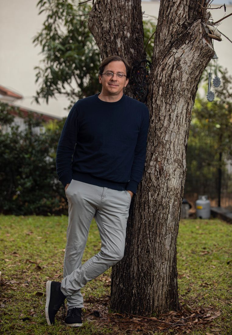 Eyal: 'Veel jongeren vinden democratie niet langer belangrijk.' Beeld Dan Balilty