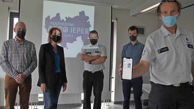 """Politiezone Arro Ieper lanceert eigen politie-app: """"Nog dichter bij de burger staan"""""""