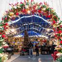 De kerstshow in Eurofleur is de grootste van Midden-Nederland.