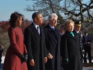Wordt zij de derde? Hillary beëindigt campagne met twee presidenten