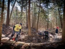 Twee nieuwe mountainbikeroutes rond Arnhem in de maak: vrijwilligers leggen er nu de laatste hand aan