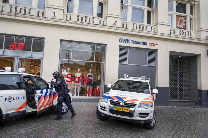 Le studio de RTL Boulevard sur la Leidseplein à Amsterdam a été évacué.