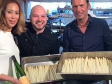 Stilte voor de storm bij asperge pop-up restaurant in Wouw