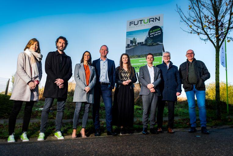 De werken op het gloednieuwe bedrijvenpark Heersterveld in Tongeren gaan binnenkort van start.