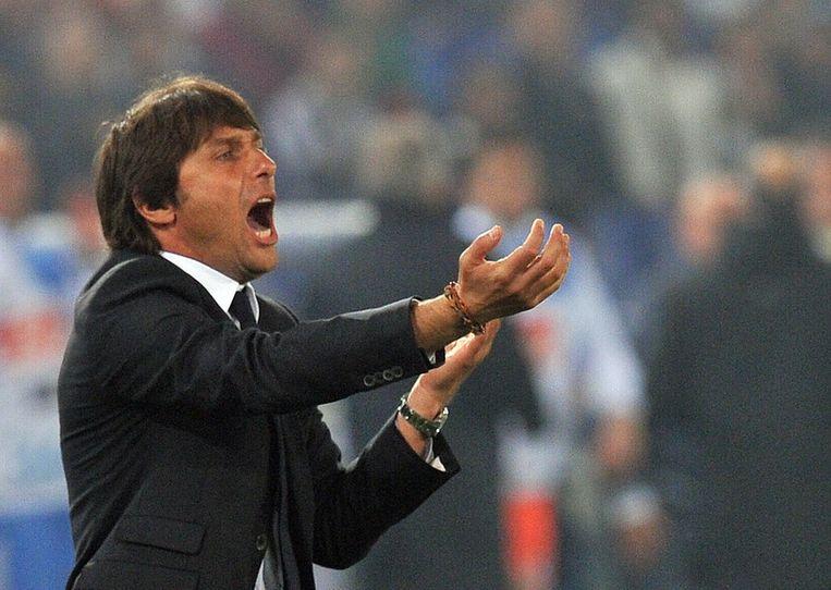 Juventus-coach Antonio Conte. Beeld ANP