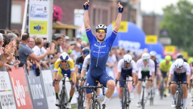 """Fabio Jacobsen bewijst vorm met winst in Gooikse Pijl: """"Ik word een bekende Nederlander in Vlaanderen"""""""