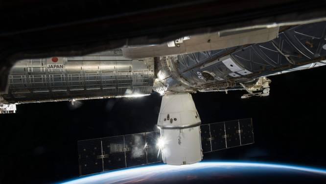 Roboticateams hebben succesvol het internationaal ruimtestation (ISS) verbouwd