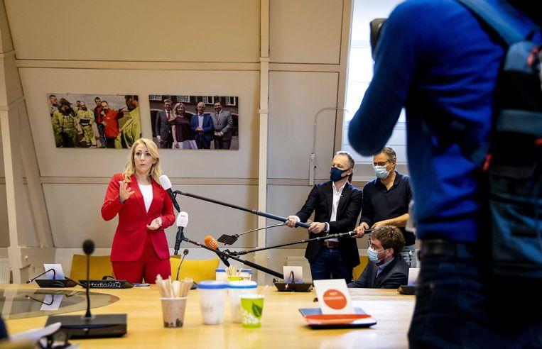 SP-partijleider Lilian Marijnissen. Beeld Sem van der Wal/ANP