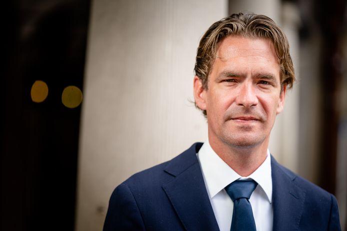 Bas van 't Wout, staatssecretaris van Sociale Zaken en Werkgelegenheid.