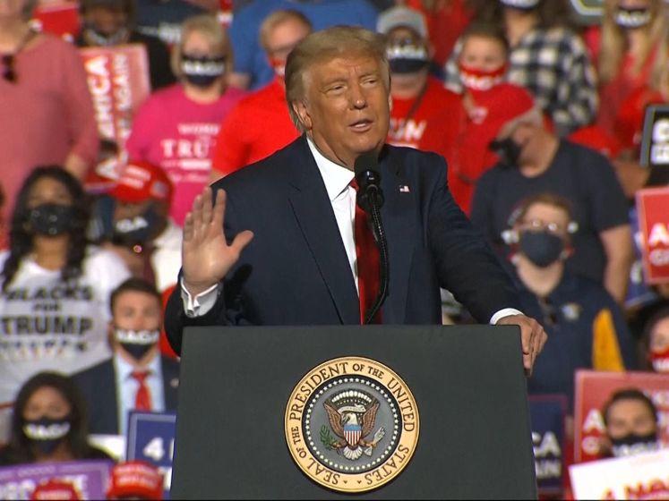 Trump: 'Niet-Trumpers zijn domme mensen'