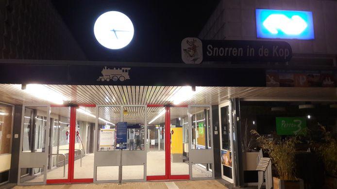 Het NS-station in Steenwijk.