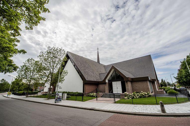 De gereformeerde kerk in Kruiningen. Beeld ANP