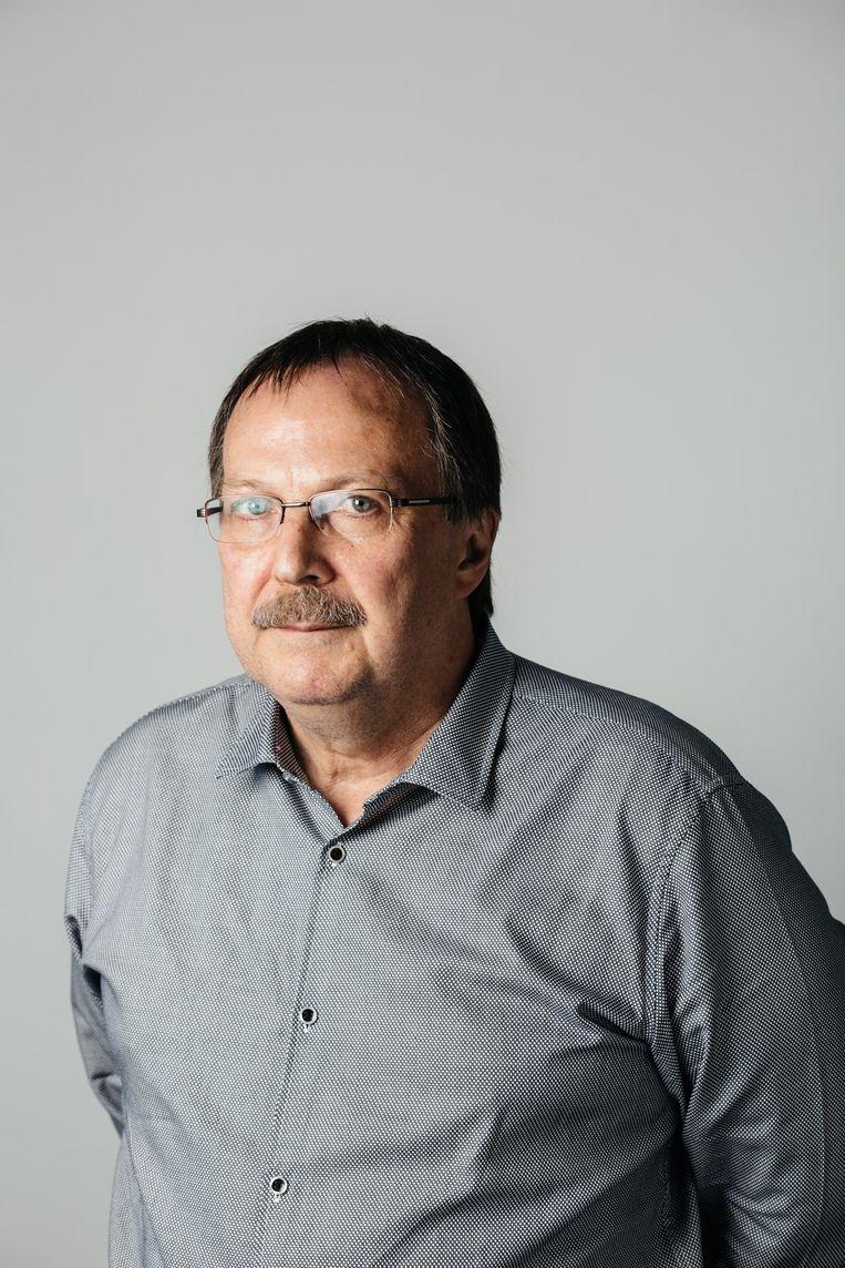 Jan Temmerman. Beeld Wouter Van Vooren