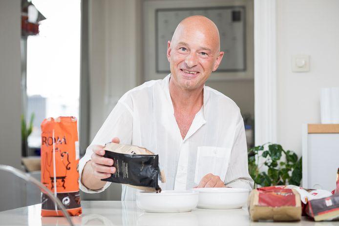 Koffie-expert Peter Hernou.