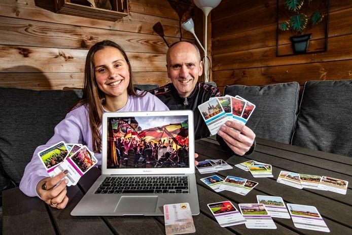 Han Balk en zijn dochter Iris maakten van het rijke fotoarchief een kwartetspel.