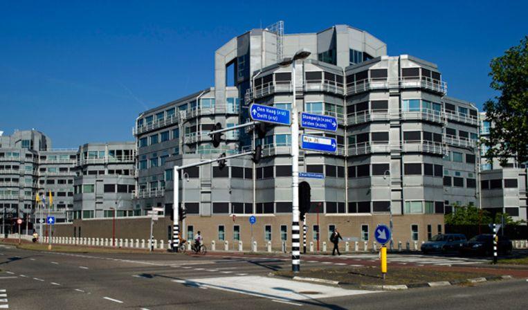 Het hoofdkantoor van de AIVD in Zoetermeer Beeld anp