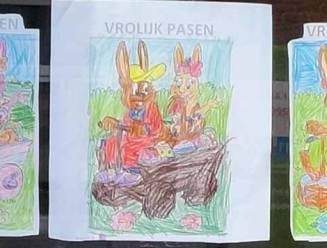 Wijkraden zetten kinderen aan het kleuren voor Pasen